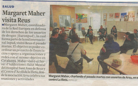 Diari Tarragona Margaret Maher - ARSU còpia